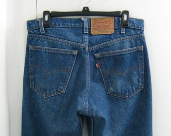 3b36dbeec50 1970s Levis 505 Red Tab Jeans 33x33 Excellent Condition Made in USA