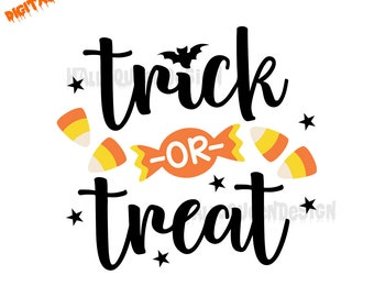 trick or treat svg etsy rh etsy com trick or treat 2017 clipart trick or treat border clipart