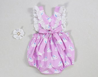 87dcd05942d baby girl Easter outfit bunny romper baby girl clothes pink baby bunny  outfit toddler girls first bunny birthday romper newborn bodysuit