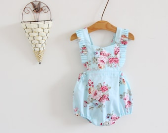 812f9f32eeb light blue baby girl clothes baby girl romper baby girl outfits toddler romper  baby romper for girls romper boho romper baby girl gift