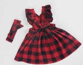 baby girl christmas dress baby girl dresses little girls dresses christmas outfits baby girl buffalo plaid dress baby clothes boho dress