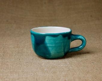 Keramik Tasse — handgetöpfert für Espresso