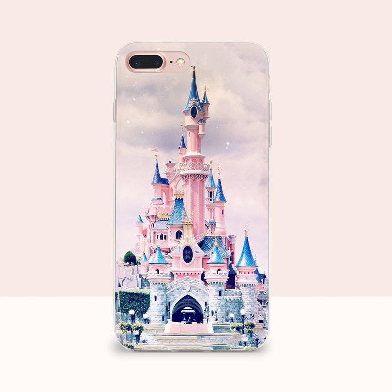 quality design 87ed9 c93d6 Disney castle iPhone case iPhone 7 plus Disney Princess castle iphone X  case Galaxy S9 Disney case for iPhone 7 Disney iPhone 6s case Note 8