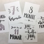 Milestone Cards-Baby