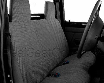 Thick Molded Headrest Front Solid Bench Custom Made A25 Seat Cover for Toyota Tacoma 1995 - 2004