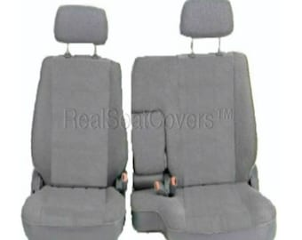 Front 60/40 Split Bench Seat Cover for Toyota Tacoma 1995 - 2000 A67