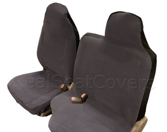 High Back 60 40 Split Front Bench Seat Cover for 98 - 2001 Ford Ranger Reg Cab Tailor made A77