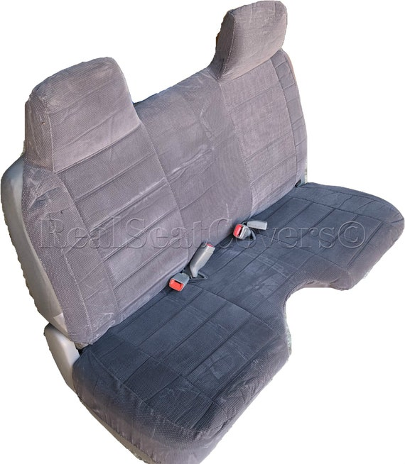 Stupendous Seat Cover For Toyota Pickup 1990 1995 A27 Molded Headrest Large Shifter Cutout Front Bench Ibusinesslaw Wood Chair Design Ideas Ibusinesslaworg
