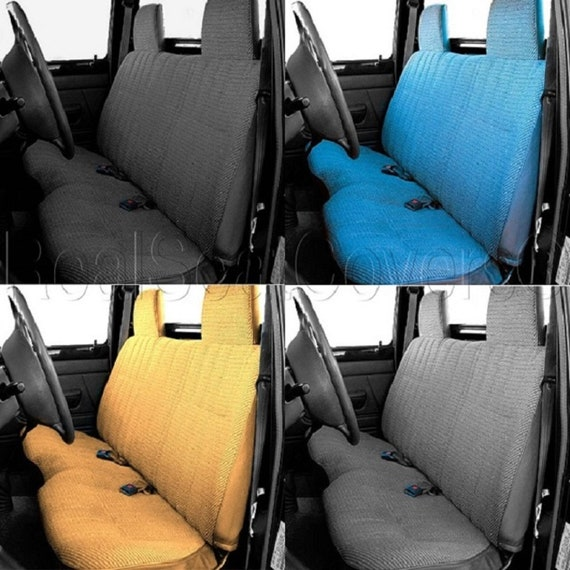 Excellent Thick Molded Headrest Front Solid Bench Custom Made A25 Seat Cover For Toyota Tacoma 1995 2004 Caraccident5 Cool Chair Designs And Ideas Caraccident5Info