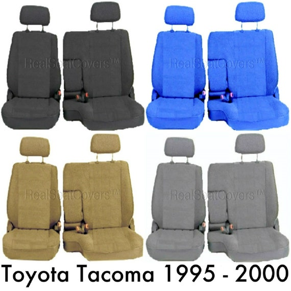 Groovy Seat Cover For Toyota Tacoma 1995 2000 Front 60 40 Split Bench A67 Adjustable Headrest Armrest Access Uwap Interior Chair Design Uwaporg