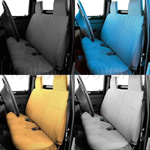 Awe Inspiring Seat Cover A23 Front Solid Bench Molded Headrest For Toyota Tacoma 1995 2004 Inzonedesignstudio Interior Chair Design Inzonedesignstudiocom
