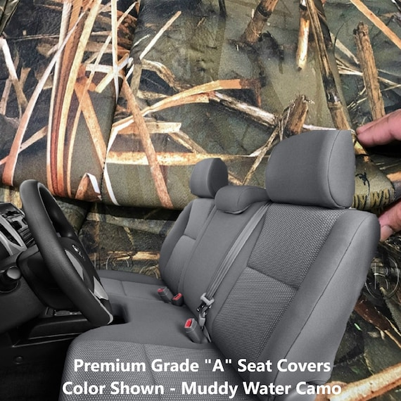 Tacoma Seat Covers >> Seat Covers For Toyota Tacoma Thick Triple Stitched Seat Cover 3 Adj Headrest Large Bench Cutout A30 Front Solid Bench