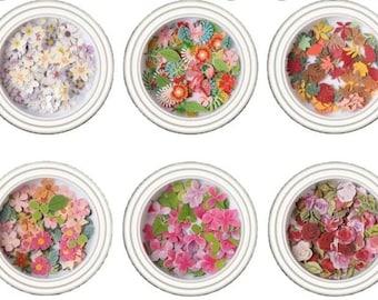 Mini Mixed Pulp Flowers
