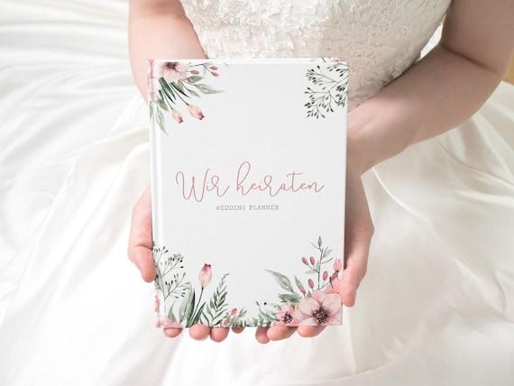 Grosse Hardcover Hochzeitsplaner Buch Organiser Journal Schones