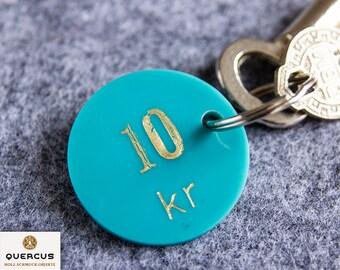 Keychain Casino Jeton 10 kr from Denmark