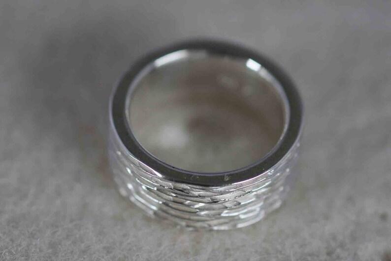 unique jewellery goldsmith/'s work jewellery silver Schwope Beautiful men/'s ring in massive silver 925 by Frank Schwope ring unique