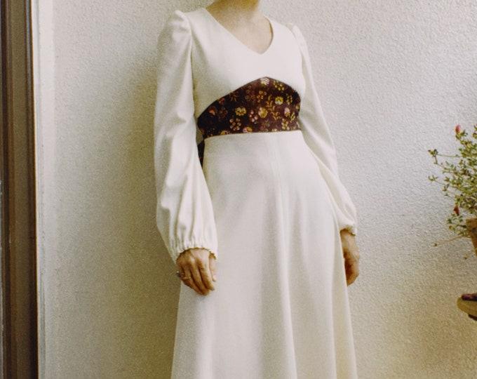 Vintage 70s | Handmade Cottage Style Dress