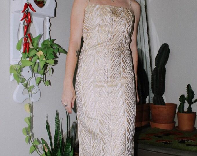 Goldmember Handmade Vintage Gown