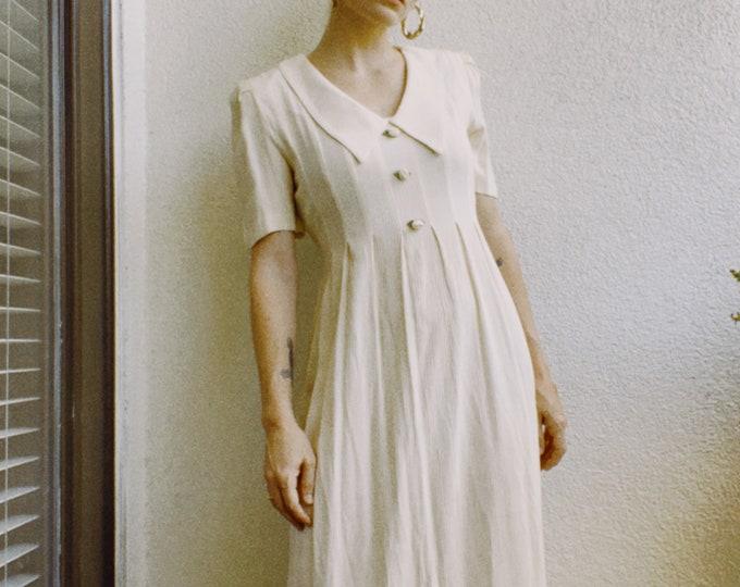 Vintage 90s   Cottage Style Dress