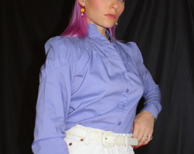 Vintage Periwinkle Blouse