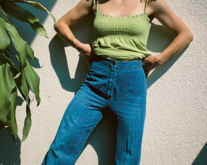 Vintage 70s | High Waisted Flares