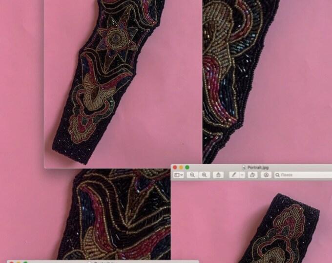80s Beaded Waist Belt