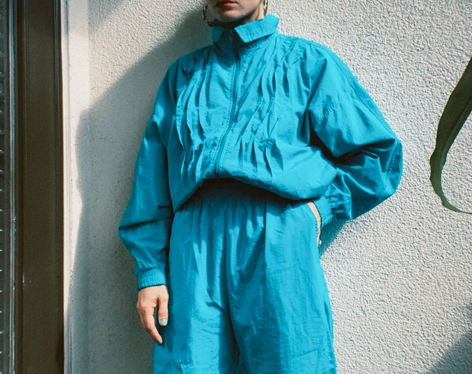 Vintage 90s | Turquoise Tracksuit
