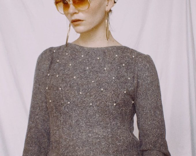 Vintage 80s | Silk Blend Sweater