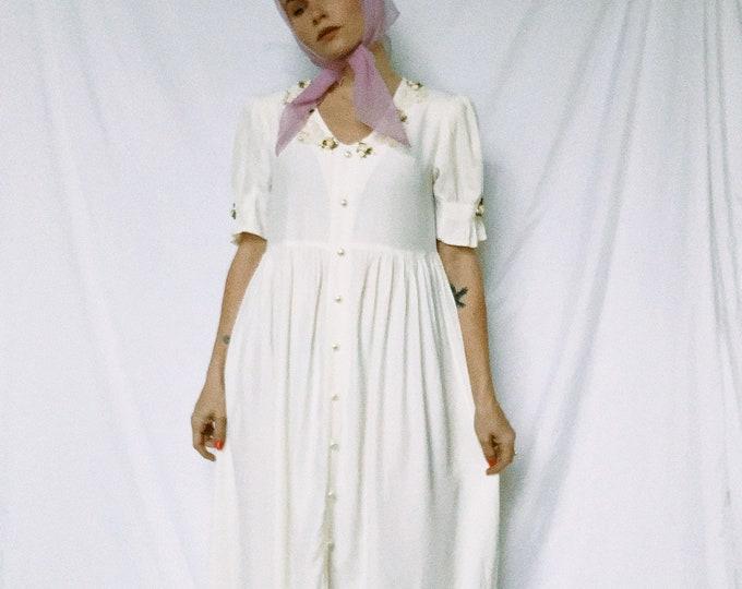 Vintage 80s | White Sweetie Dress