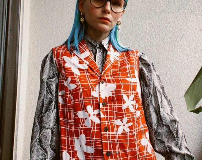 Vintage 70s | Deadstock Sleeveless Hawaiian Shirt