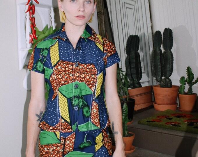 Printed Cotton Skirt Set