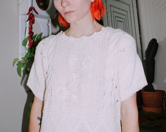 Luxurious Short Sleeved Sweater