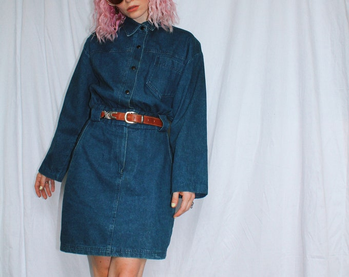 Vintage 80s | Denim Mini
