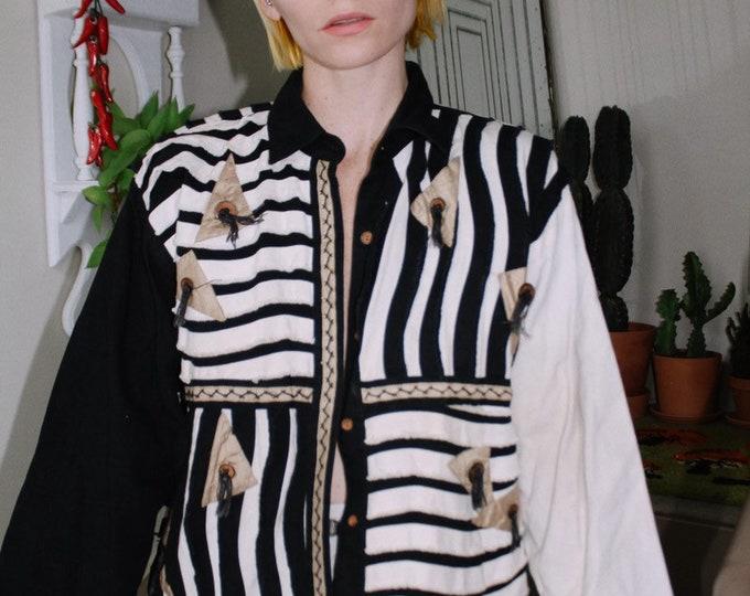 Funky Contrast Jacket