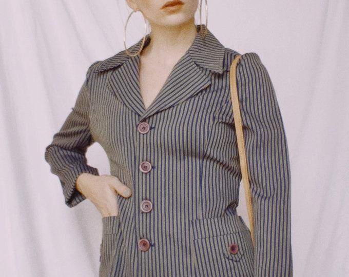 Vintage 70s | Striped Blazer