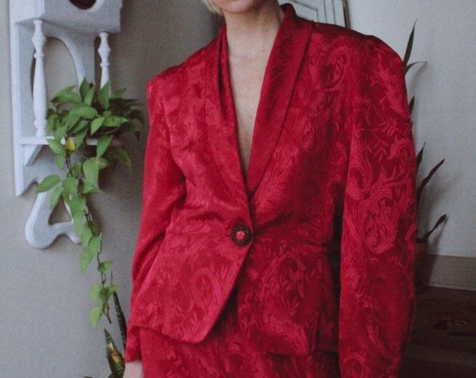 Magenta Suit Set