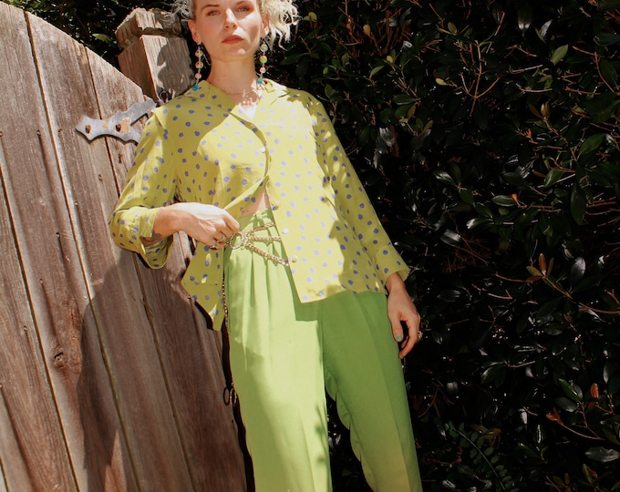 Vintage 1990s | Green Ombre Trousers