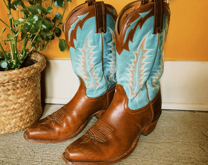 Vintage Tony Lama Cowboy Boots
