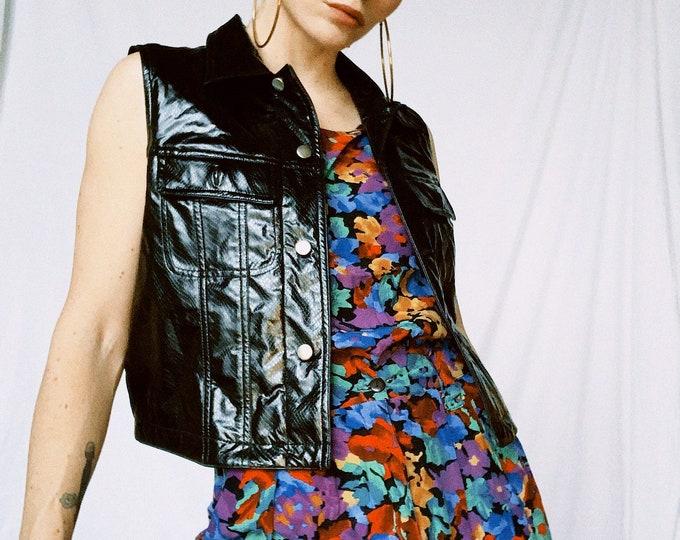 Vintage 90s | Polyvinyl Vest