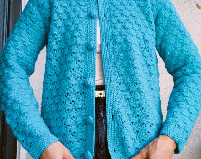 Vintage 60s | Handmade Wool Cardigan