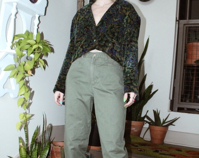 Army Green Trousers