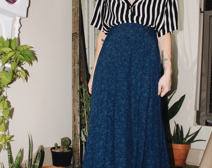 Blue Swing Skirt