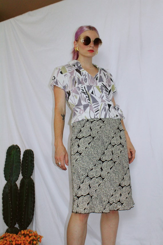 Vintage 90s | Slip Skirt