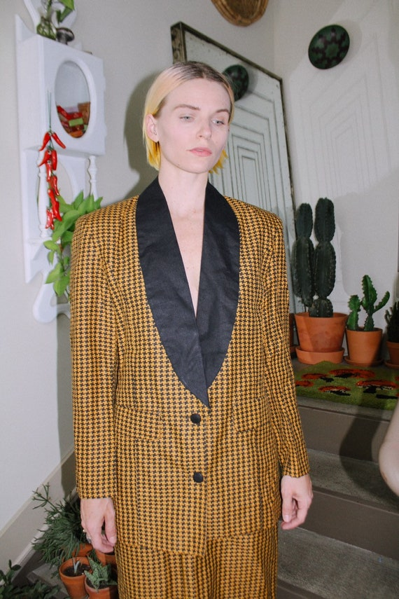 Houndstooth Suit Set - image 1
