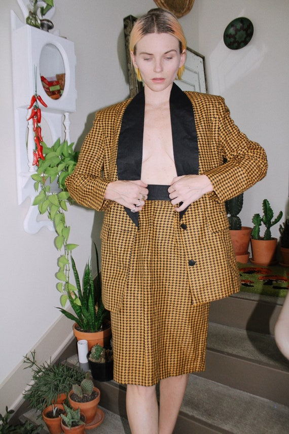 Houndstooth Suit Set - image 3