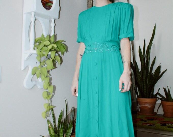 Vibrant 80s Dress