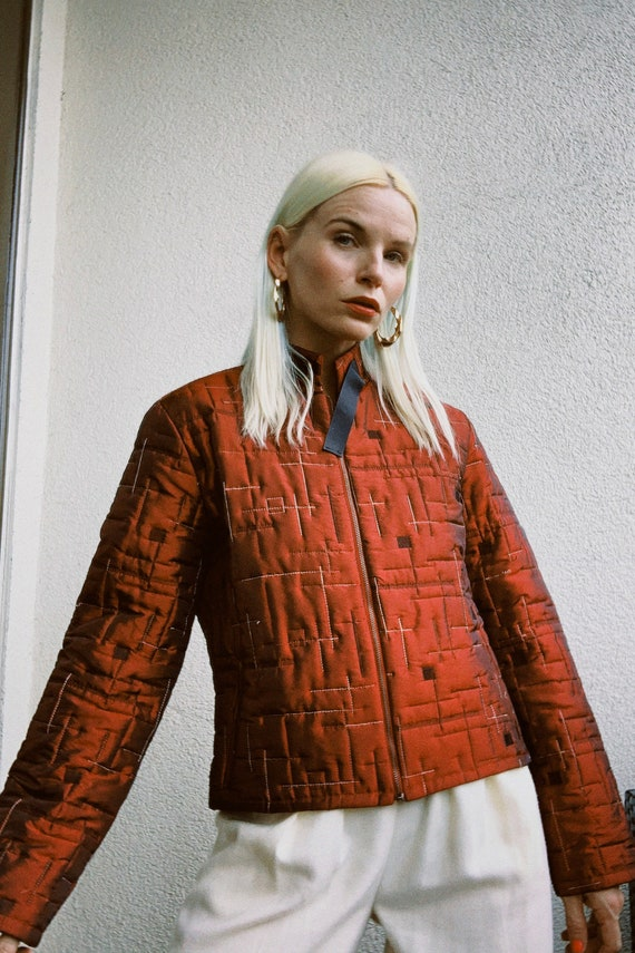 Vintage Quilted Puffer Jacket