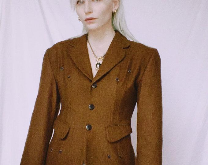 Vintage 70s | Vertigo Brown Western Blazer