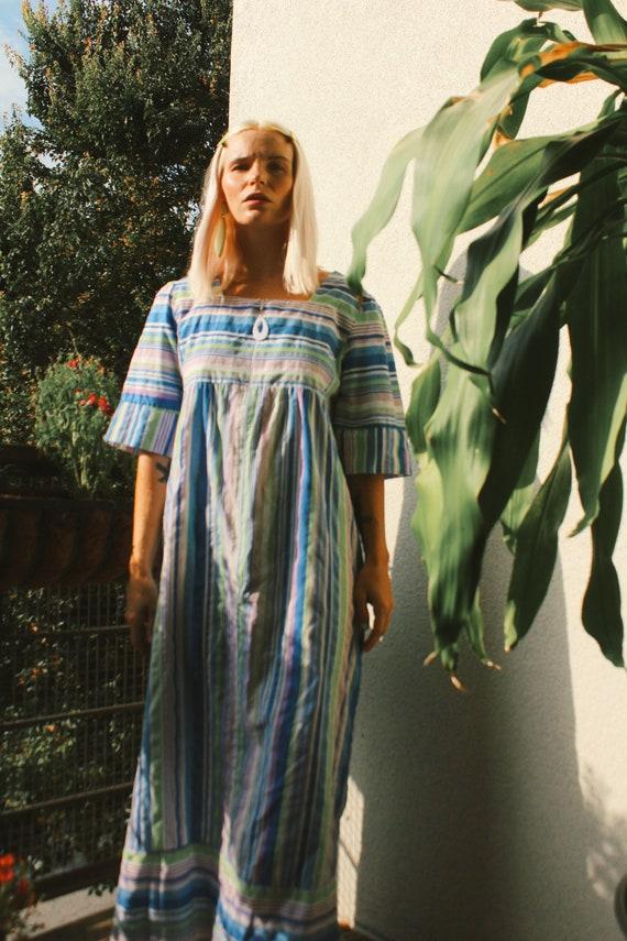 Vintage 90s   Striped Muumuu