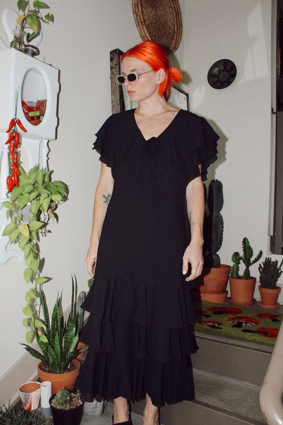 Dark Romantic Dress